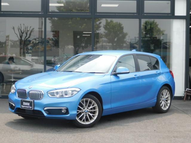 BMW 1シリーズ 118d ファッショニスタ 17AW ベージュ革シート シートヒーター ACC バックカメラ 全周囲センサー LEDヘッドライト パーキングアシスト ホワイトトリム コンフォートアクセス ミラーETC CD/DVD