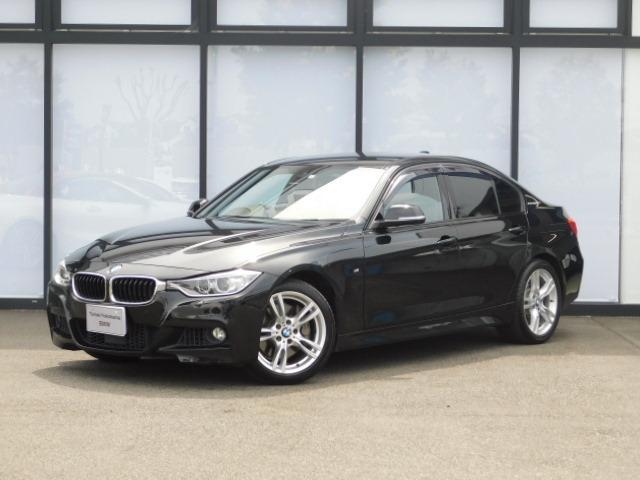 BMW 3シリーズ アクティブハイブリッド3 Mスポーツ 18AWドアバイザーMFSミラーETC黒革Pシート前後PDCアルミトリムACCフルセグTVパドルシフトCD/DVDコンフォートアクセスAUXインテリジェントセーフティ