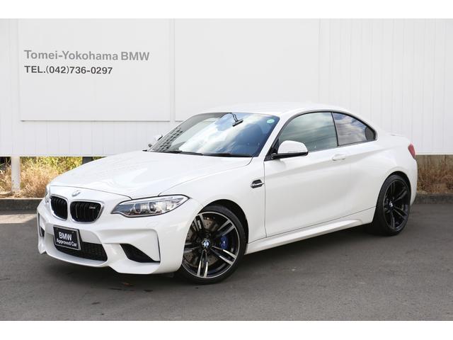 BMW M2 ベースグレード 19AWキセノン黒革PシートUSBコンフォートアクセスMFSフロントシートヒーター社外フルセグ社外パドルシフトharmanサウンドBカメラAUXリアPDCリアフィルム