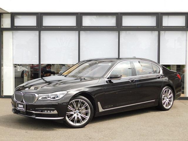 BMW 750Li インディビジュアルエディション Individual Edition 全国30台限定車/ルビーブラックカラー/レーザーライト社外ドラレコ/スカイラウンジパノラマサンルーフ/リアエンタメ/全席シートマッサージHUDフレグランス