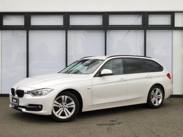 BMW 3シリーズ 320dツーリング スポーツ 17AW コンフォートアクセス オートトランク ACC 社外レザー電動シート 社外シートヒーター 弊社下取り1オーナー インテリジェントセーフティ SOSコール ミラーETC