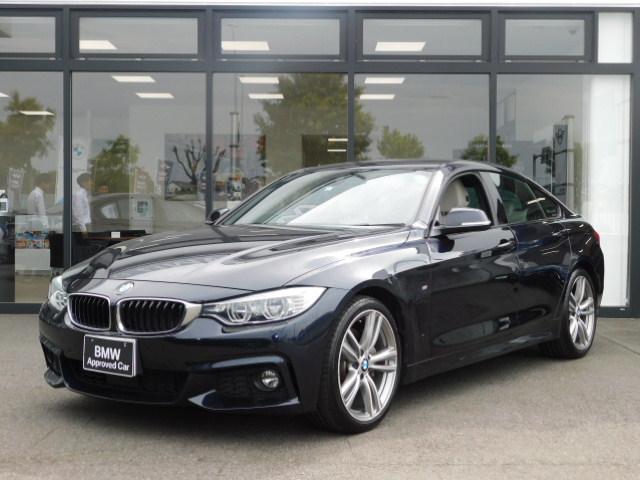 BMW 435iグランクーペ Mスポーツ 19AW バックカメラ 前後センサー ACC パドルシフト ヘッドアップディスプレイ LEDヘッドライト コンフォートアクセス オートトランク 白革電動シート シートヒーター 純正前ドライブレコーダー