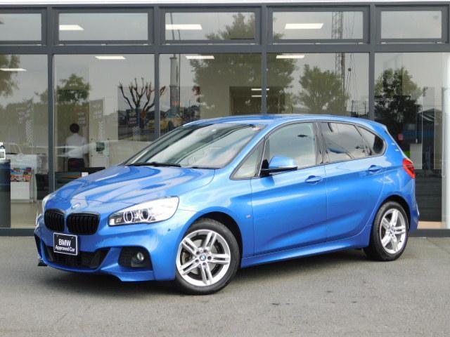 BMW 218dアクティブツアラー Mスポーツ 17AW コンフォートアクセス オートトランク バックカメラ 前後センサー パーキングアシスト ブラックキドニーグリル LEDヘッドライト インテリジェントセーフティ SOSコール ミラーETC