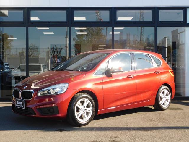 BMW 218iアクティブツアラー マルチファンクションステアリングLED16インチアルミホイールCD/DVDリアPDCインテリジェントセーフティUSBリミッターMコレSOS