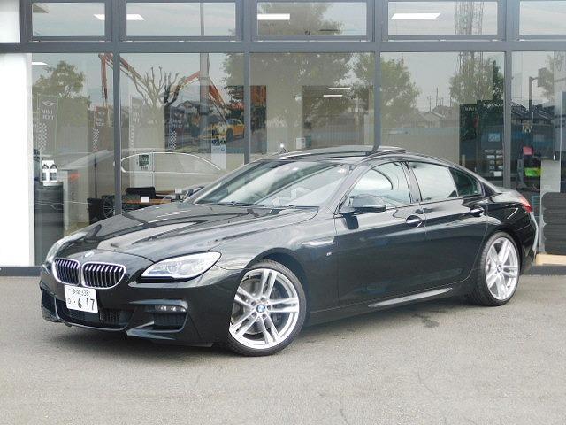 BMW 640iグランクーペ Mスポーツ 20インチアルミホイール前後PDCヘッドアップディスプレイ黒革電動シートMFSサンルーフACCシートヒーターCD/DVDインテリジェントセーフティ