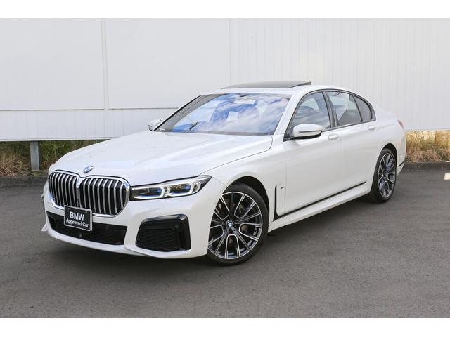 BMW 740d xDrive Mスポーツ 紹介動画有 モカブラウンレザーシート サンルーフ ヘッドアップディスプレイ レーザーヘッドライト 全席ヒートシーター ハーマンカードン ソフトクローズドア 全方位センサー/カメラ デモカー