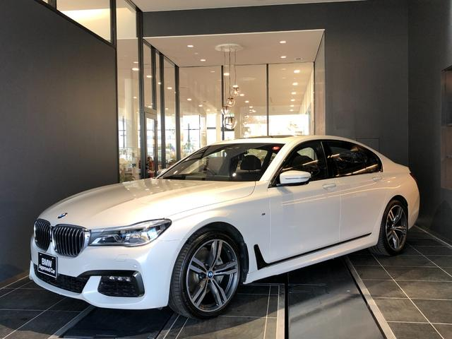 BMW 740d xDrive Mスポーツ 20AW コンフォートアクセス オートトランク ソフトクローズドア サンルーフ レーザーライト 茶革電動シート シートヒーター シートエアコン シートマッサージ ACC 全方位カメラ ハーマンカードン