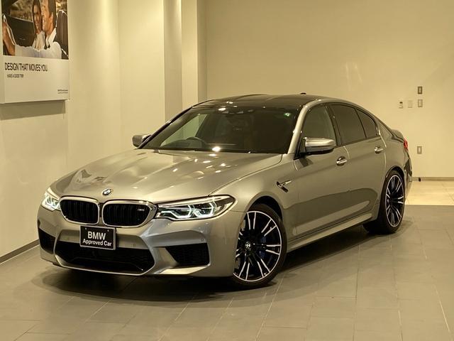 BMW M5 20Aw 1オーナー  B&Wスピーカー ソフトクローズ ACC コンフォートアクセス オートトランク LEDヘッドライト 全方位カメラ 全方位センサー パーキングアシスト 茶革電動シート