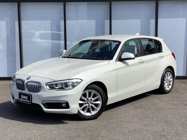 BMW 118d スタイル 半革シートLEDホワイトトリムCD/DVD前車追従機能SOSコール機能16インチアロイホイール後方障害物センサーBカメラUSBインテリジェントセーフティAUXアイドリングストップ