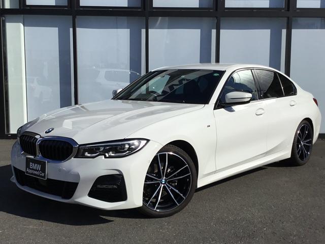 BMW 3シリーズ 320i Mスポーツ 19インチアロイホイール弊社下取車両オートトランク前車追従機能付きバックカメラ前後障害物センサー黒革電動シート木目トリムミラーETC