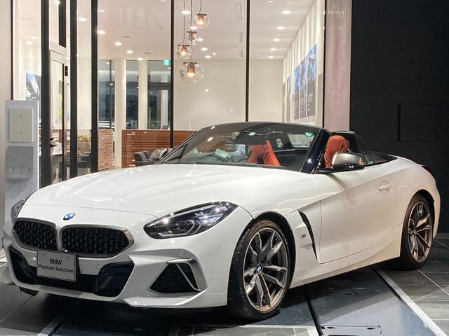 BMW Z4 M40i 新型エンジン搭載 ハーマンカードンスピーカー 前車追従クルコン 赤革スポーツ電動シート シートヒーター バックカメラ 前後センサー パーキングサポート 後退アシスト LEDヘッドライト 弊社下取り禁煙