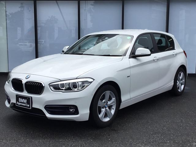 BMW 118i スポーツ アドバンスドアクティブセーフティパッケージ 16インチAW LEDヘッドライト バックカメラ 前後センサー ミラーETC Bluetooth アイドリングストップ 黒布スポーツシート USB