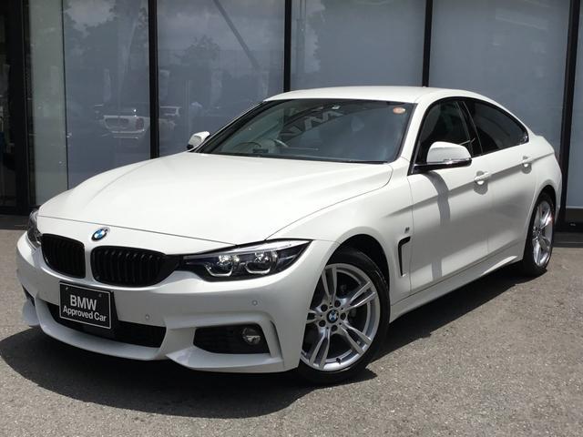 BMW 4シリーズ 420iグランクーペ Mスポーツ LCIモデル LEDヘッドライト アルカンターラシート 前後コーナーセンサー ドライビングアシスト 前ドラレコ 18インチアロイホイール 前車追従クルコン シートヒーター フルセグTV 電動トランク