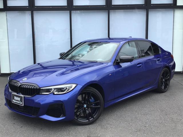 BMW 3シリーズ M340i xDrive パーキングアシストプラス harman/kardonスピーカー 19インチAW レーザーライト トップビューカメラ 全方位センサー ヘッドアップディスプレイ フブラックレザーシート シートヒーター