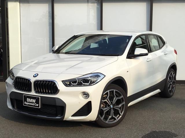 BMW sDrive 18i MスポーツX 弊社デモカー LEDヘッドライト 19インチAW ヘッドアップディスプレイ アンビエントライト 前車追従機能 半革スポーツシート シートヒーター バックカメラ 前後センサー オートトランク USB