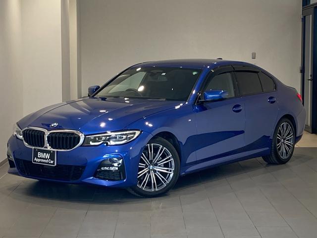 BMW 3シリーズ 320i Mスポーツ オートトランク バックカメラ 前後センサー 前車追従機能 シートヒーター アンビエントライト 半革スポーツ電動シート 18インチAW LEDヘッドライト ワイヤレスチャージ パドルシフト ミラーETC