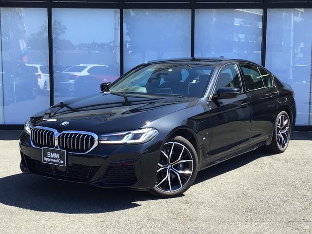 BMW 530e Mスポーツ エディションジョイ+ 19AW モカナッパレザーシート シートヒーター シートベンチレーション ヘッドアップディスプレイ 前車追従クルコン トップビューカメラ 前後センサー 後期モデル パーキングアシスト パドルシフト