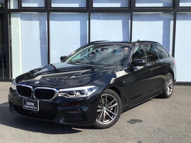 BMW 523d xDriveツーリング Mスピリット 18AW アドバンスPKG 前車追従クルコン ヘッドアップディスプレイ トップビューカメラ 前後センサー オートトランク コンフォートアクセス LEDヘッドライト フルセグTV レーンコントロール