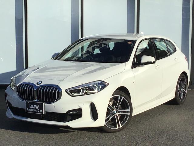 BMW 118i Mスポーツ 弊社下取り車両 LEDヘッドライト 18インチAW バックカメラ 前後センサー 後退アシスト パーキングアシスト オートトランク 黒半革スポーツ電動シート ワイヤレスチャージ アンビエントライト