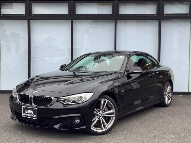 BMW 4シリーズ 435iカブリオレ Mスポーツ レッドレザー電動シート19インチアロイホイールAdaptiveLEDシートヒーター前後障害物センサーバックカメラパドルシフトCD/DVDアクティブクルーズコントロール