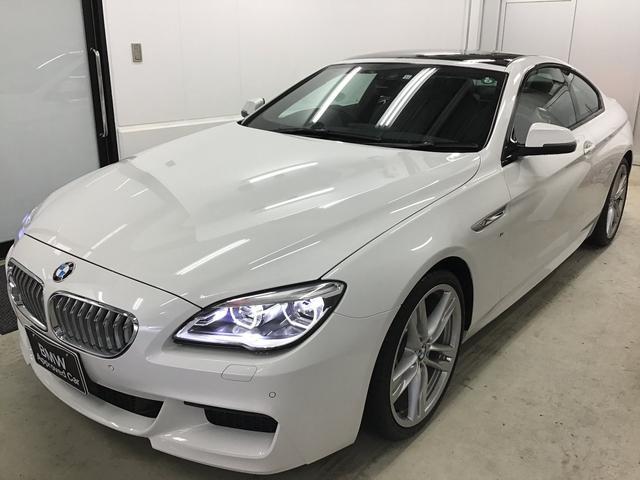 BMW 6シリーズ 650iクーペ Mスポーツ ※画像後日更新予定 サンルーフ弊社下取車20インチアロイホイールブラックレザーシートAdaptiveLEDヘッドライトデジタルメーターパネルヘッドアップディスプレイSOSコールハーマンサウンド