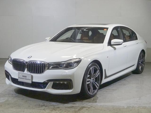 BMW 750i Mスポーツ 茶革・サンルーフ・ACC・20インチ