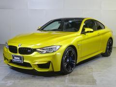 BMWM4クーペ 黒革左MT