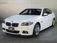 BMW523d Mスポーツアクティブクルーズ車線逸脱警告