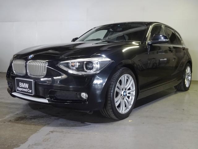 BMW 116i スタイル 黒革 サンルーフ 純正ナビ