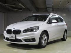 BMW218iアクティブツアラー ラグジュアリー 純正ルーフレール
