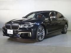 BMWM760Li xDrive 茶革・ACC・リアモニター
