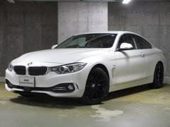 BMW420iクーペ ラグジュアリー 新品純正18インチ 茶レザー