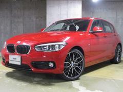 BMW118d スポーツ 登録済未使用車・19AW・キーレス