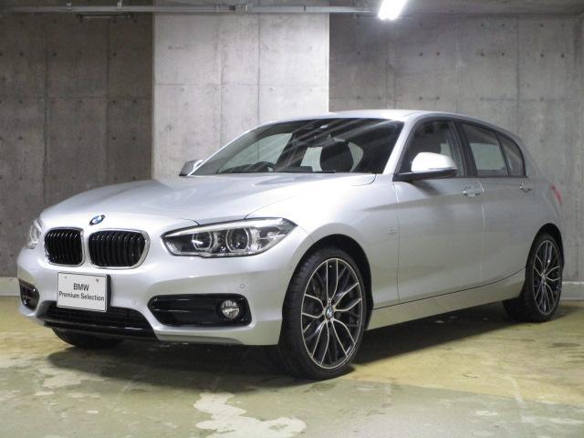 BMW 118d スポーツ 登録済未使用車 19インチAW カメラ
