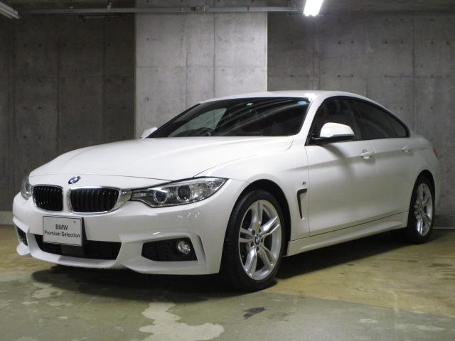 BMW 420iグランクーペ Mスポーツ レッドレザーACC カメラ