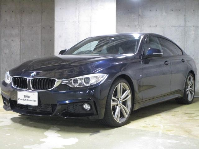 BMW 420iグランクーペ Mスポーツ ブラック革 ナビ カメラ