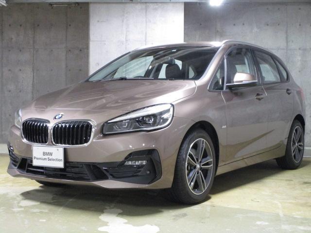 BMW 218dスポーツ・ACC・カメラ・コンフォートPKG
