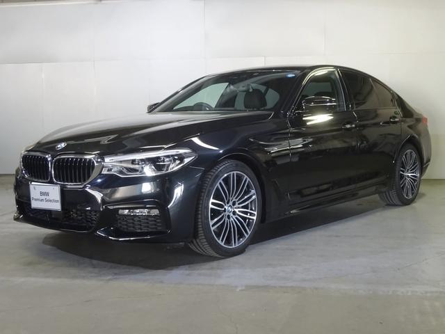 BMW 523d Mスポーツハイライン黒革・19AW・イノベーション