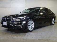 BMW530iラグジュアリー黒革・ナビ・カメラ・ACC・18インチ
