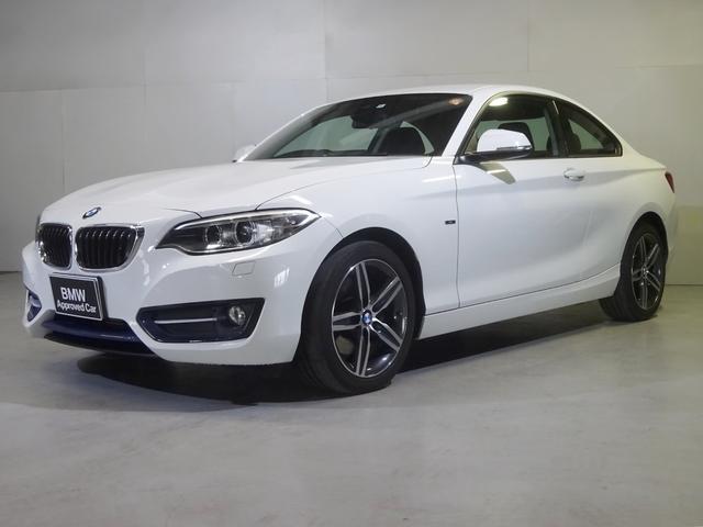 BMW 220iクーペ スポーツ ナビ ETC