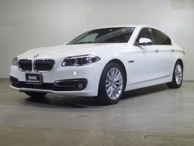 BMW 528iラグジュアリー 黒革 ACC