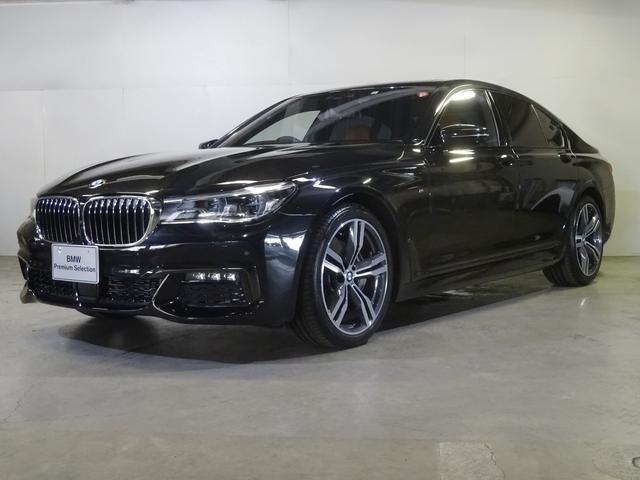 BMW 740d xDrive Mスポーツ コニャック サンルーフ