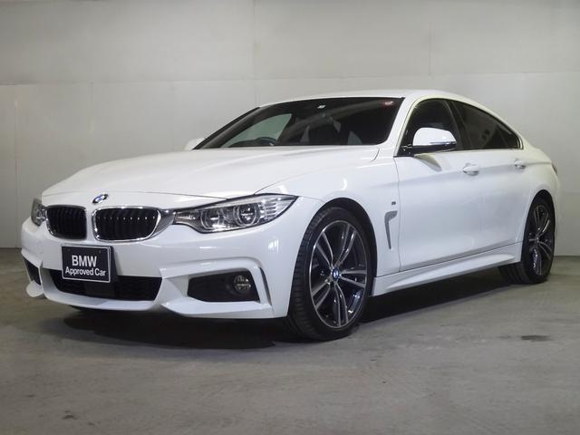 BMW 420iグランクーペ Mスポーツ 19AW ACC 黒レザー