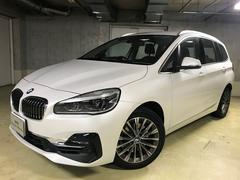 BMW218iグランツアラー ラグジュアリーヘッドUPACC黒革