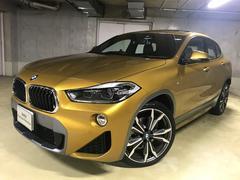 BMW X2xDrive 18d MスポX黒革20AWサンルーフACC