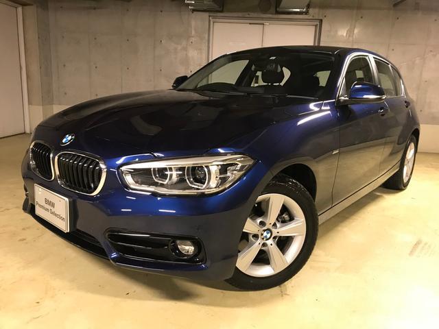 BMW 118d スポーツ 弊社デモカー バックカメラ