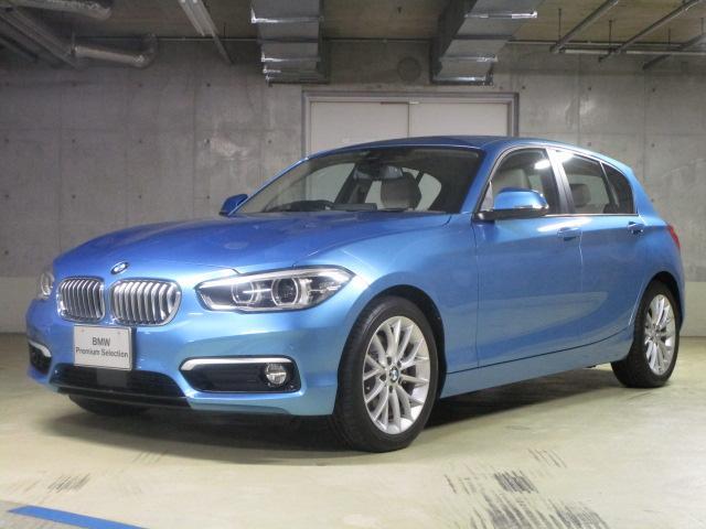 BMW 118i ファッショニスタ革ACC新車保証BSIデモ車