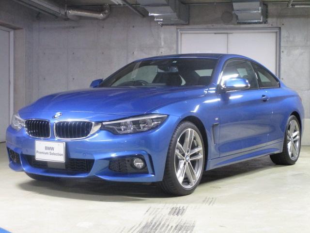 BMW 420iクーペ Mスポーツ19AW 黒革液晶メーター新車保証