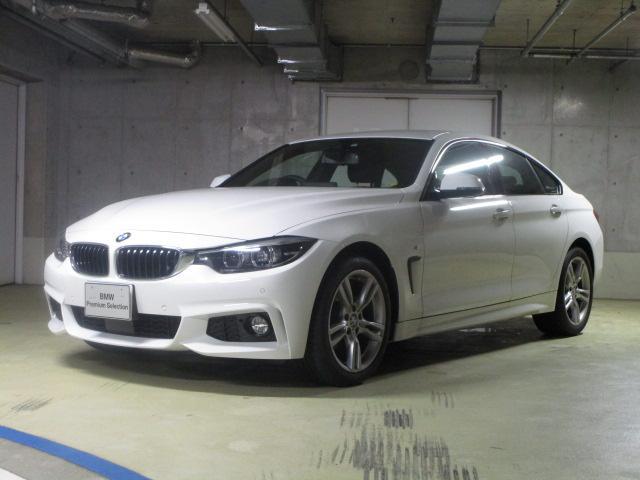 BMW 420i xDriveグランクーペ Mスピリット新車保証継承