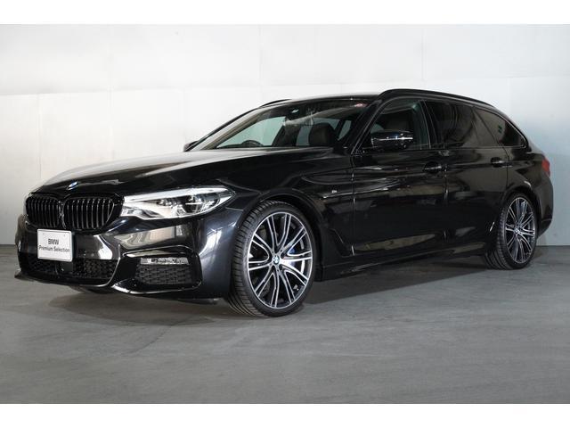 BMW 530iツーリング Mスポーツ黒革 デビューPKG 20AW